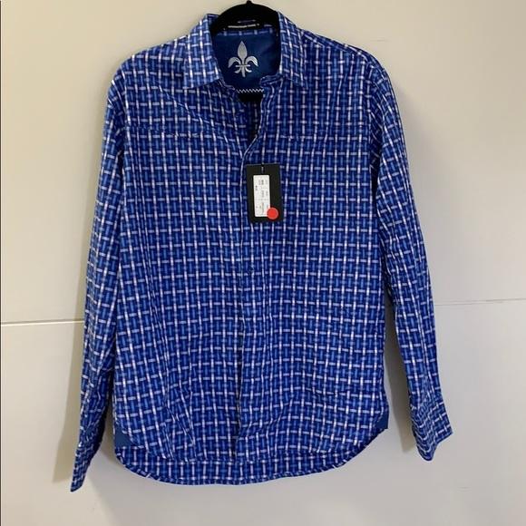 international laundry Other - International Laundry blue and white dress shirt